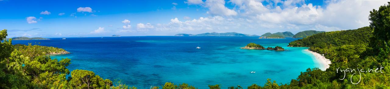 Panorama of the vista overlook