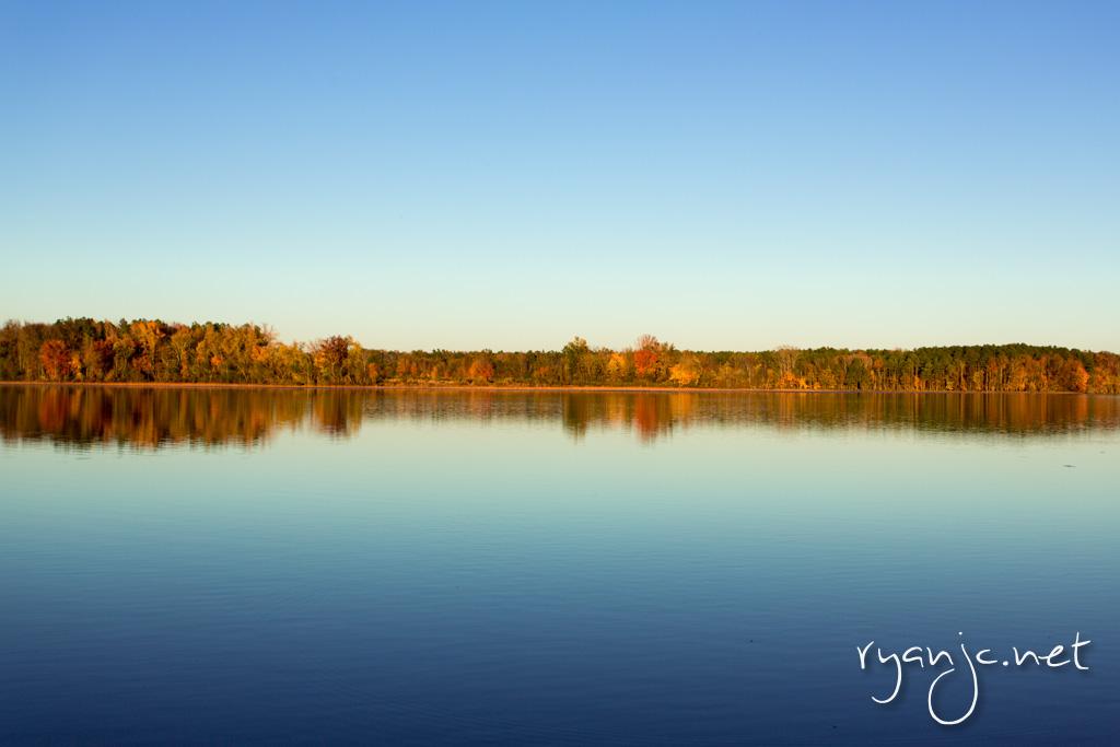 Lake Bailey at Sunset, Petit Jean State Park
