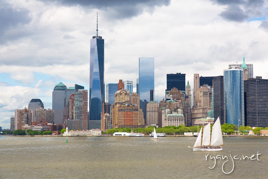 Downtown Manhattan Skyline - New York City, NY