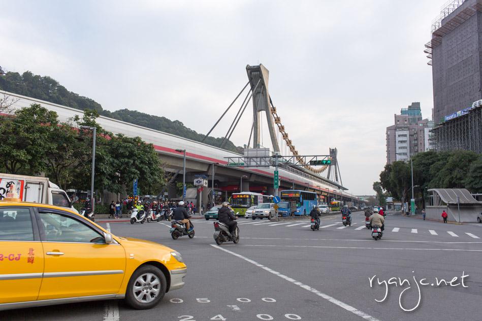 Jiantan Station in Shilin
