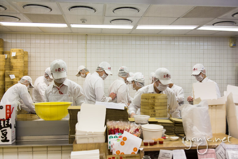 Ding Tai Fung is a must visit in Taipei. The universally famous steamed xiao long bao (soup dumplings) are amazing and so are there other steamed buns and dumplings.