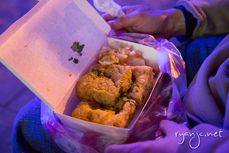 Stinky tofu, a must try in Taiwan!!