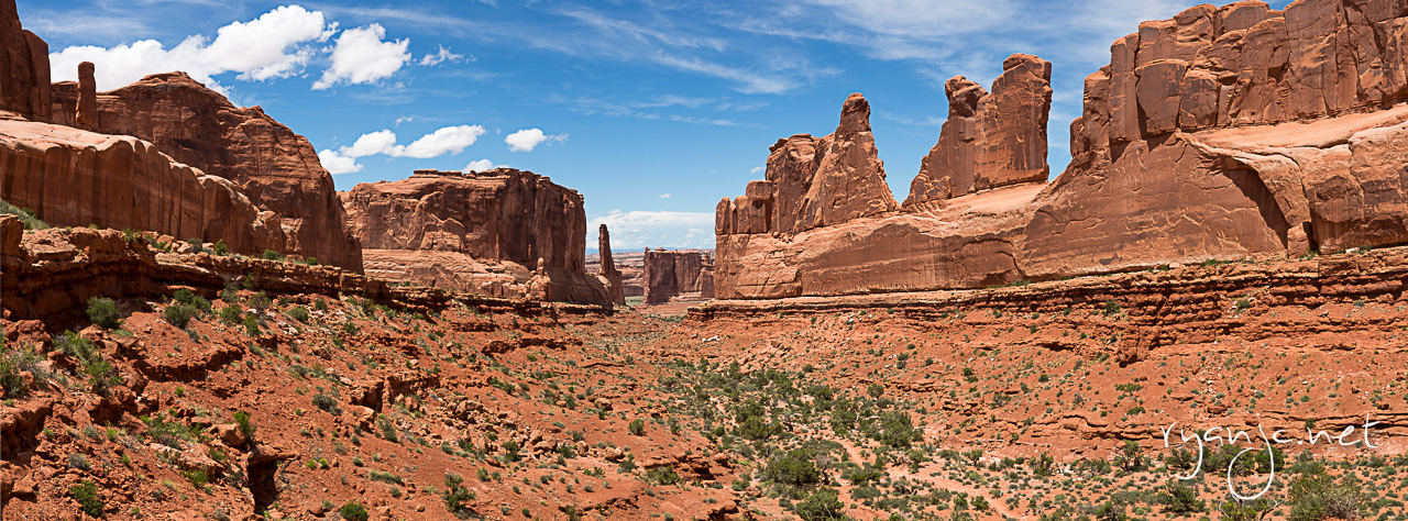 Park Avenue - Arches National Park. Taken May 27, 2015.