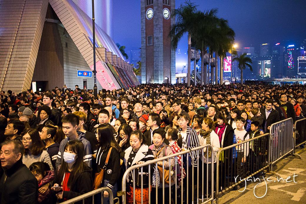 Tsim Sha Tsui , Hong Kong on Chinese New Year. Taken February 20, 2015.